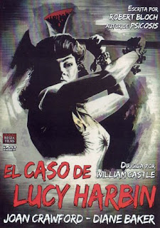Portada de la edición española del dvd El caso de Lucy Harbin
