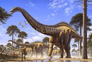 Foto Seismosaurus hallorum