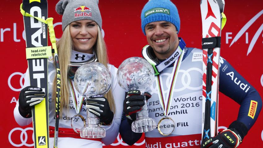 Vonn, Fill, St Moritz 2016 globus