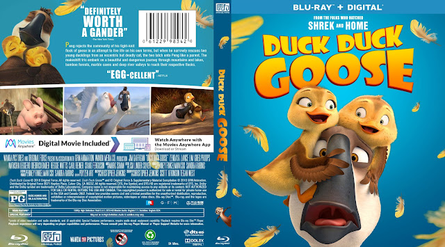 Duck Duck Goose Bluray Cover