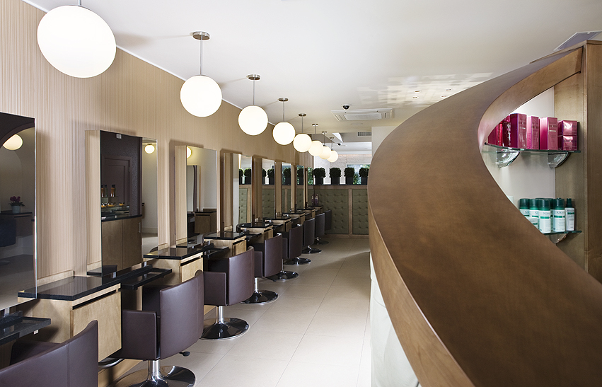 Hair Salon Interior Design Hession Vernon Avenue Australia Abgc Architecture And