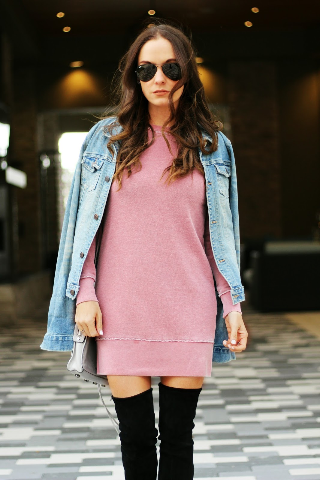 Sweatshirt Dress outfit