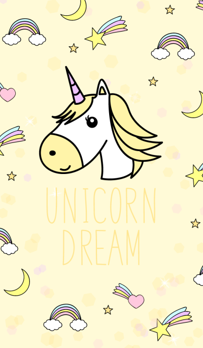 Unicorn Dream Yellow