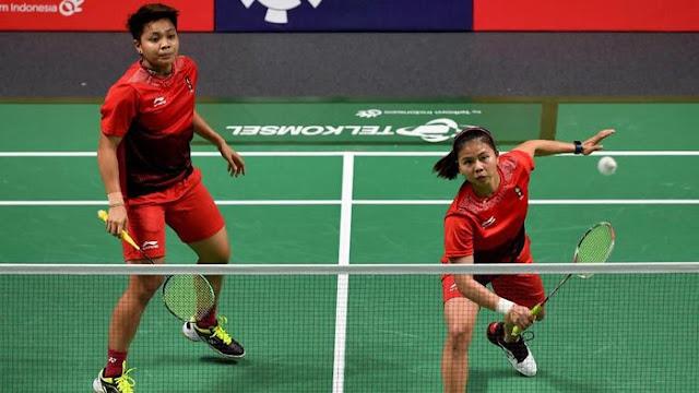 BWF World Tour Finals: Tatap Laga Pertama, Greysia/Apriyani Menantang Rekor Buruk