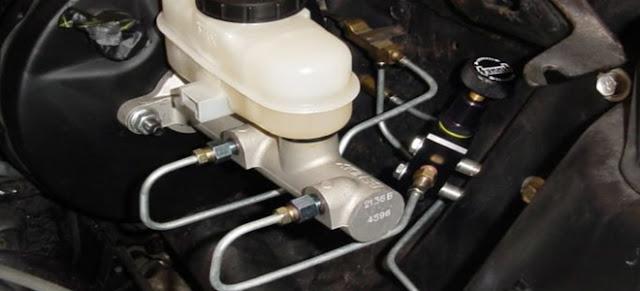 problèmes de maître-cylindre de frein