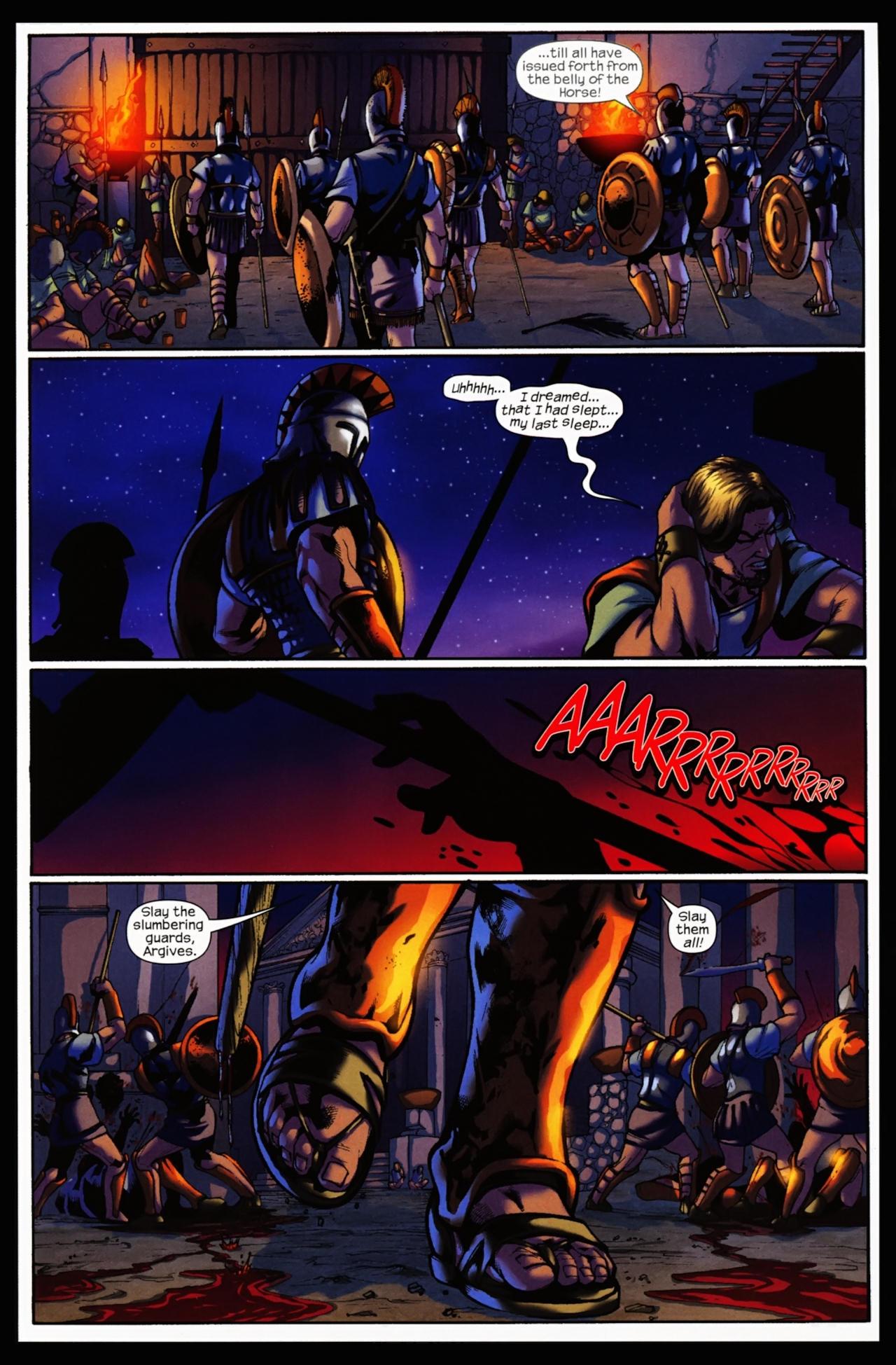 Read online Trojan War comic -  Issue #5 - 8