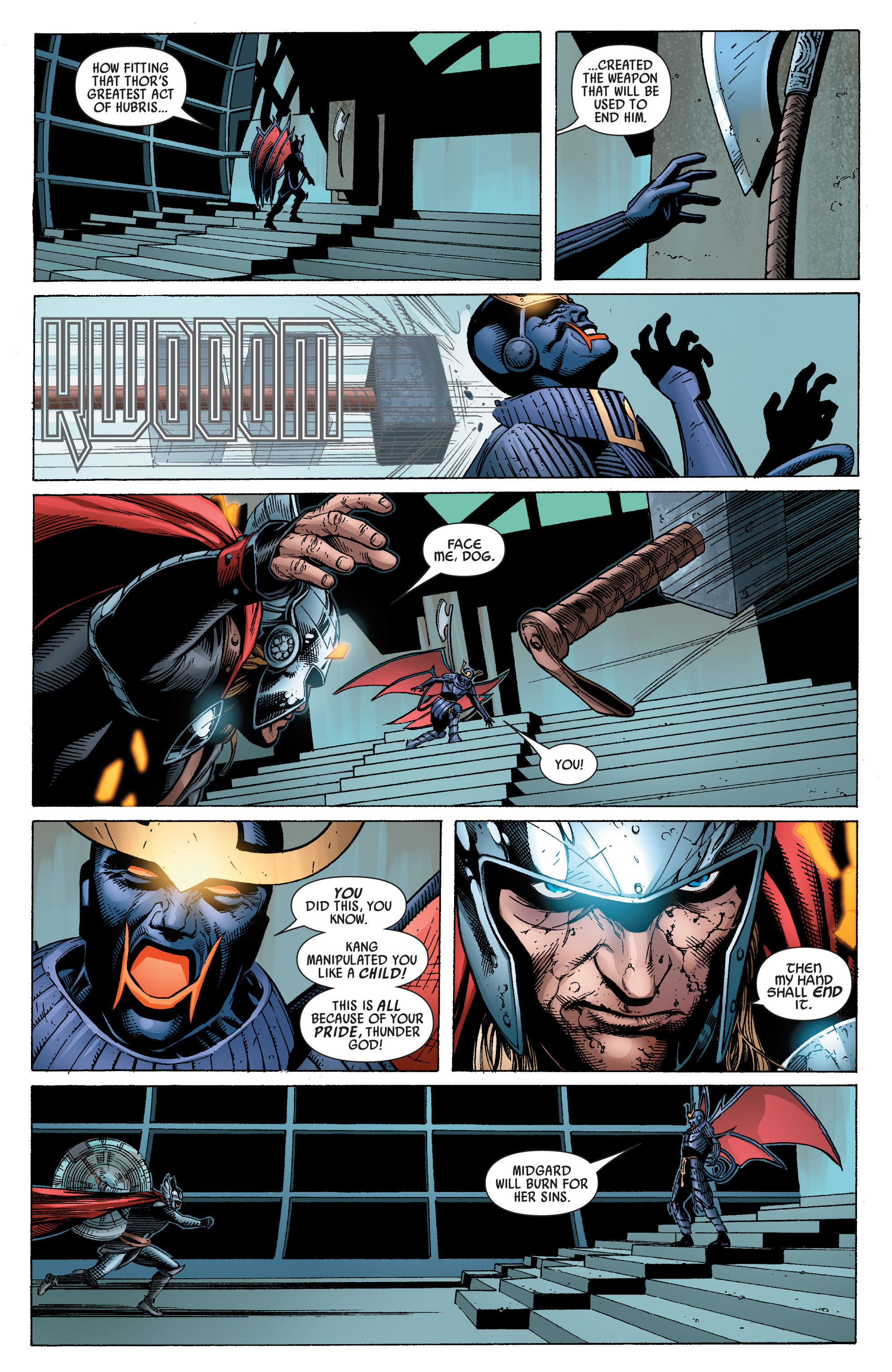 Read online Uncanny Avengers (2012) comic -  Issue #16 - 19