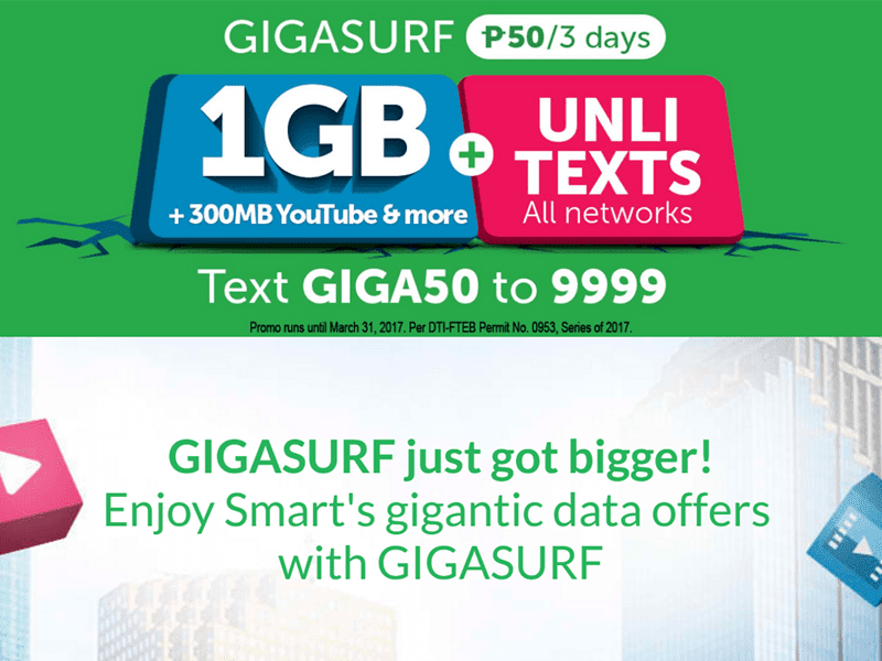 Smart Upgrades GIGASURF 50