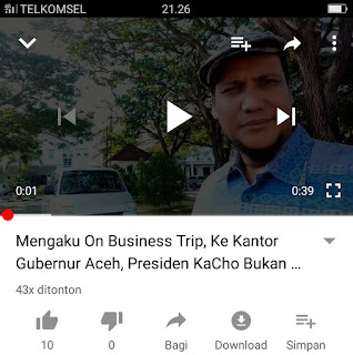 Presiden KaCho On Business Trips