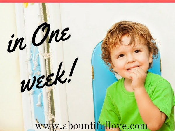 How We Potty Trained Our Two year Old in 1 Week