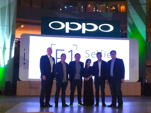 Selfie Expert, the OPPO F1 Launched held at the Trinoma, February 17, 2016.