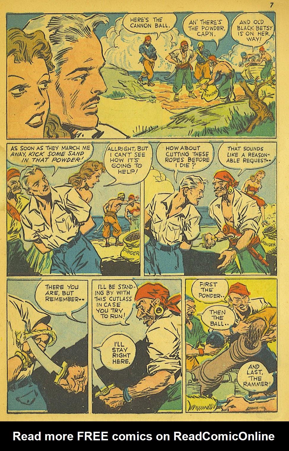 Read online Super-Magician Comics comic -  Issue #19 - 7