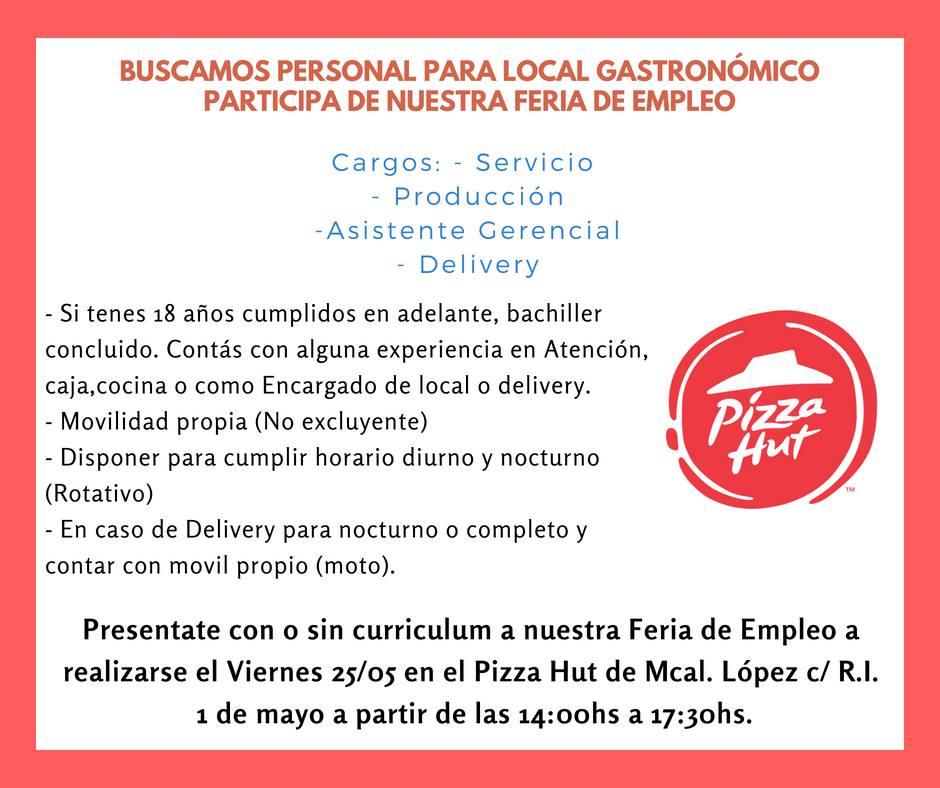 Excelente Pizza Entrega Conductor Trabajo Resume Ideas - Colección ...