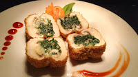 Spinach cheese stuffed mushrooms Food Recipe Dinner ideas