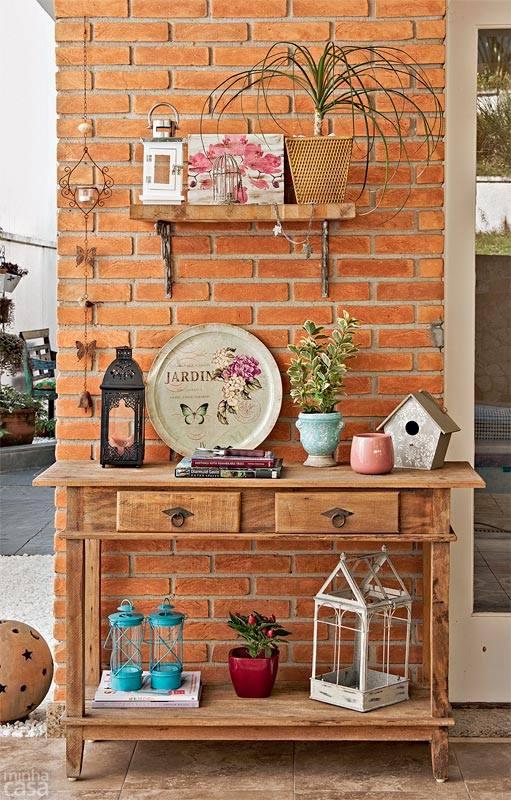 Casa decora o reciclados reas externas lindas e bem for Paginas para decorar casas
