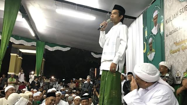 Ustadz Abdul Somad: Umat Islam Wajib Nyoblos, Jangan Golput