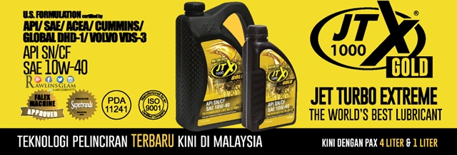 JTX 1000 Gold, car lubricants, oil price, the cheapest car lubricant, minyak hitam paling murah, Tribology, jimat minyak, byrawlins, Hanis Haizi Protege,