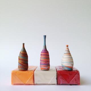 Jarrones miniatura hecho a mano
