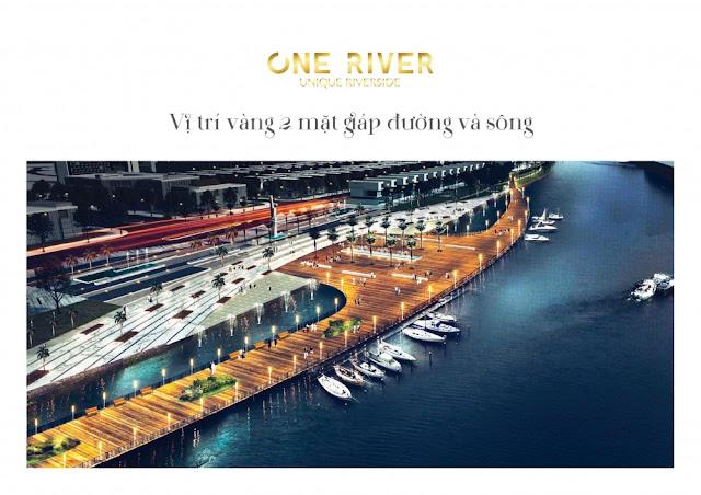 Dự án one river Đà Nẵng – Biệt thự ven sông đặc biệt nhất