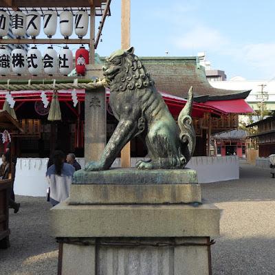 今宮戎神社 狛犬