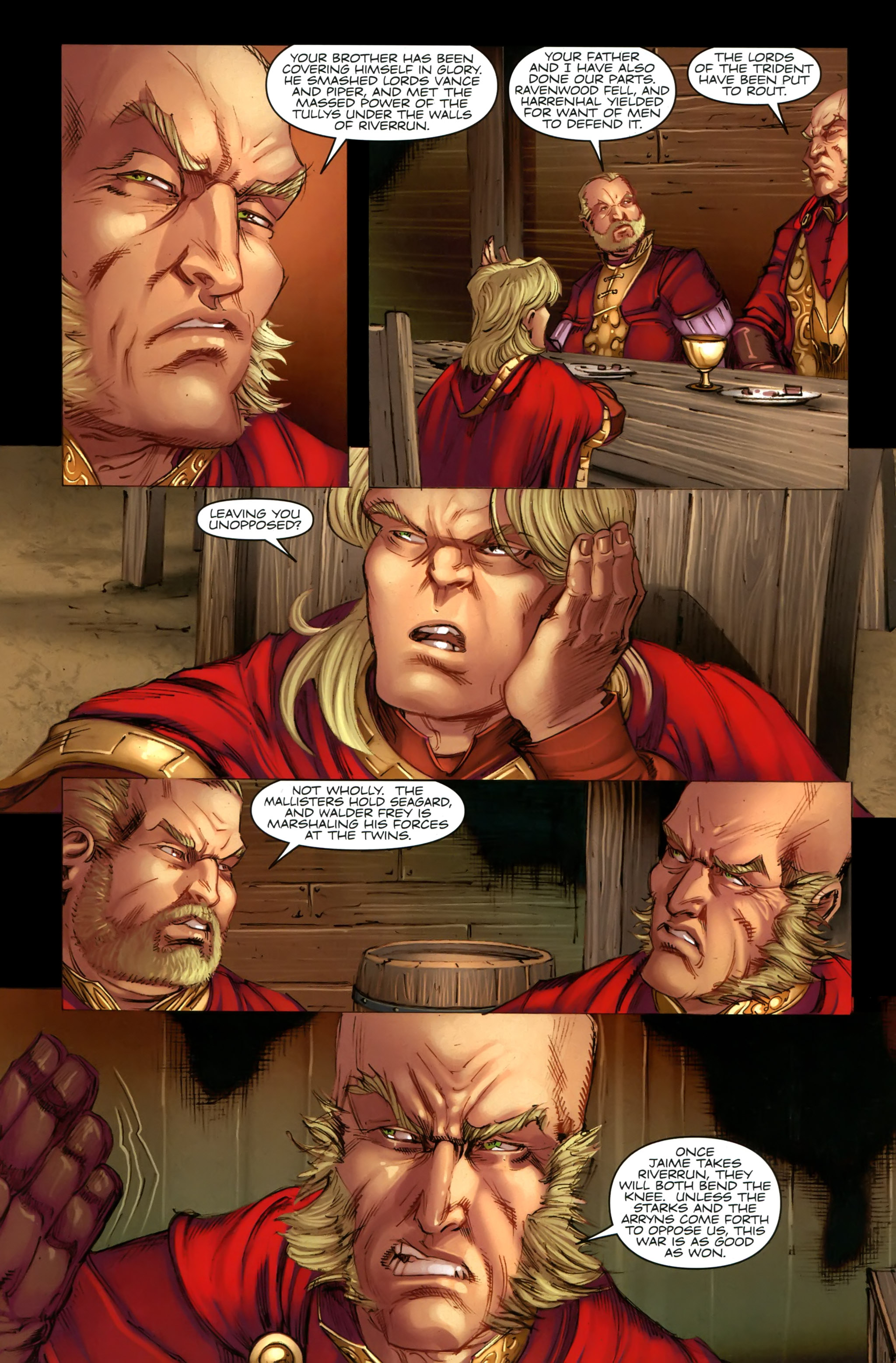 Read online A Game Of Thrones comic -  Issue #19 - 10