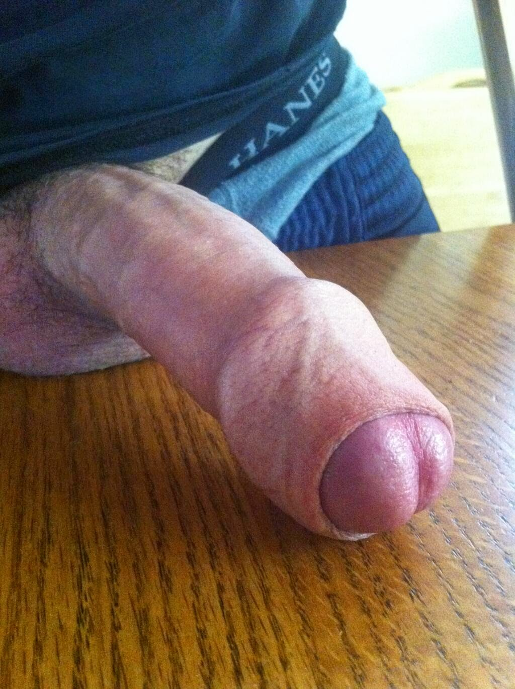 Old Fat Cock Head