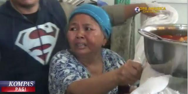 Ibu yang Warung Nasinya Dirazia Satpol PP