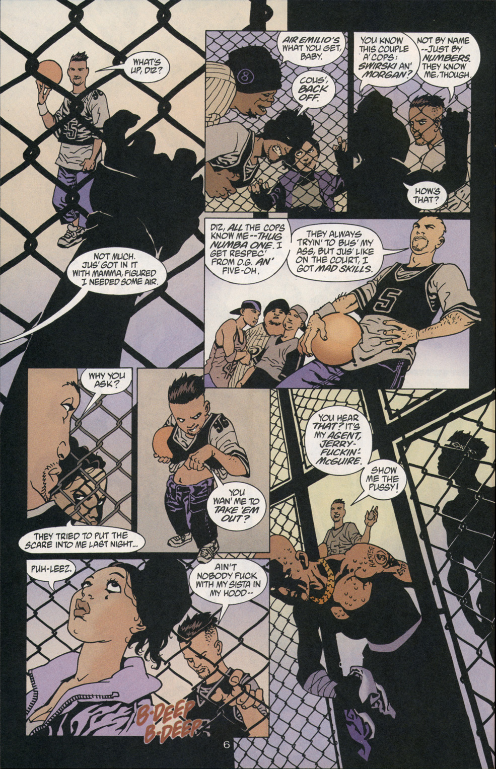 Read online 100 Bullets comic -  Issue #2 - 7