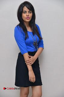 Actress Nandita Swetha Stills in Black Mini Skirt at Ekkadiki Potavu Chinnavada Movie Special Show  0016.JPG