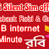 3 GB internet & 60 minute 48 Tk | Robi silent sim offer 2019