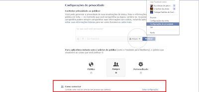 bloquear convites amizade facebook