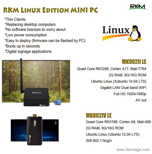 Rikomagic Android TV BOX, fly mouse&MINI LED projector