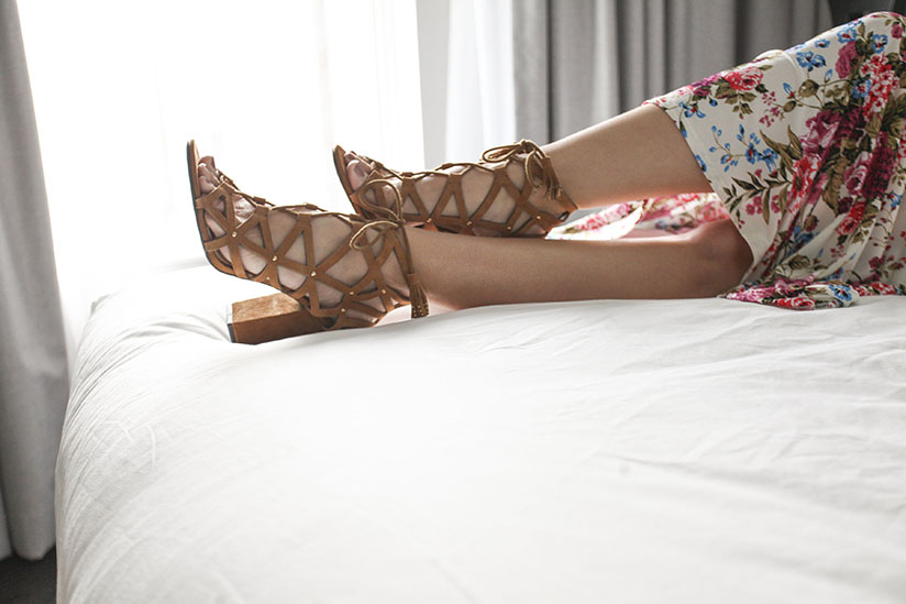 Kariba Cage Sandal by Jessica Simpson from An Unlikely Pear
