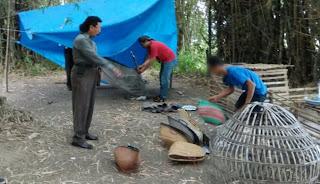 Polisi Gerebek Sabung Ayam di Sumberrejo