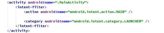 7- شرح ماهو ملف AndroidManifest.xml   في مشروع الاندرويد؟بالتفصيل