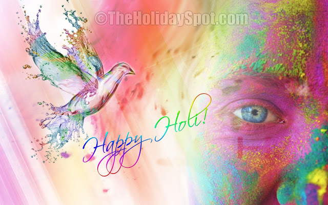 Happy Holi Wallpapers For Facebook