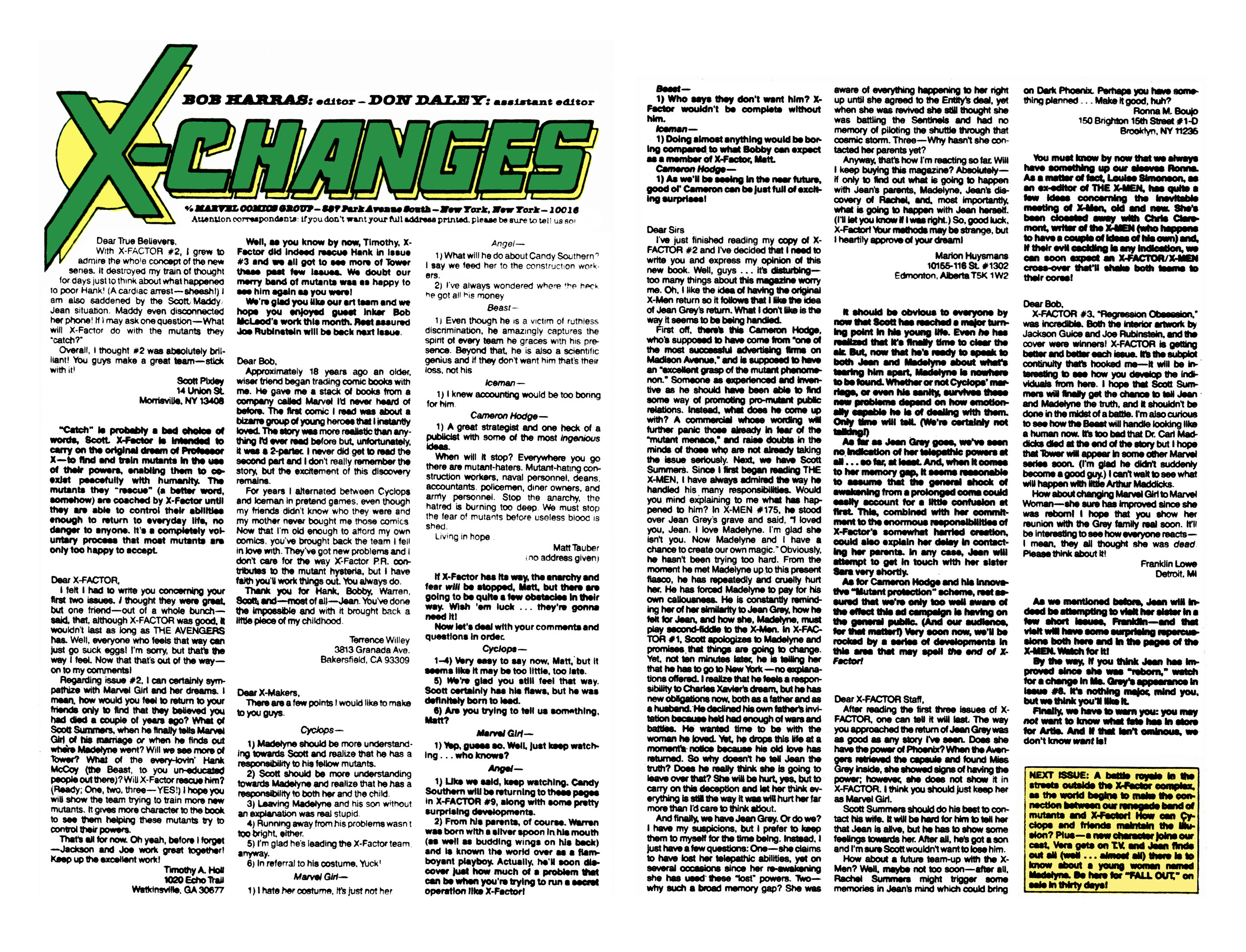 Read online X-Factor (1986) comic -  Issue #6 - 24