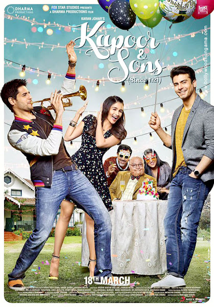 Kapoor & Sons (2016) Movie Poster