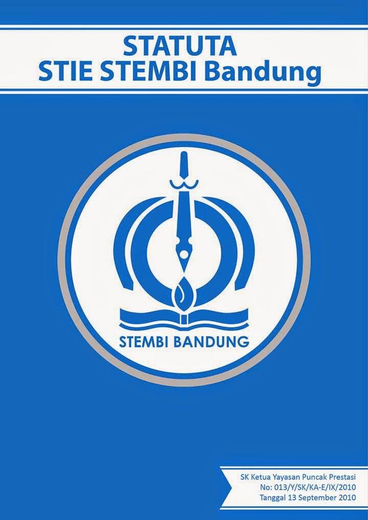 statuta-cvr-02 Desain Cover STATUTA STIE STEMBI Bandung