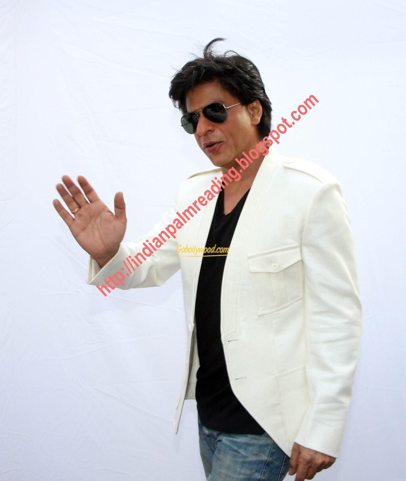 shahrukh left hand palmistry