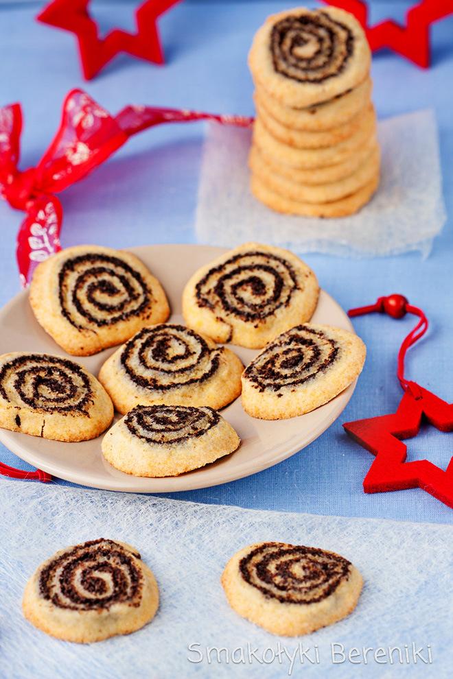 Makowe ciasteczka