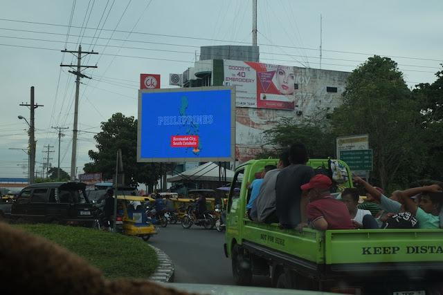 Huge LED screen installed at Koronadal City Roundball