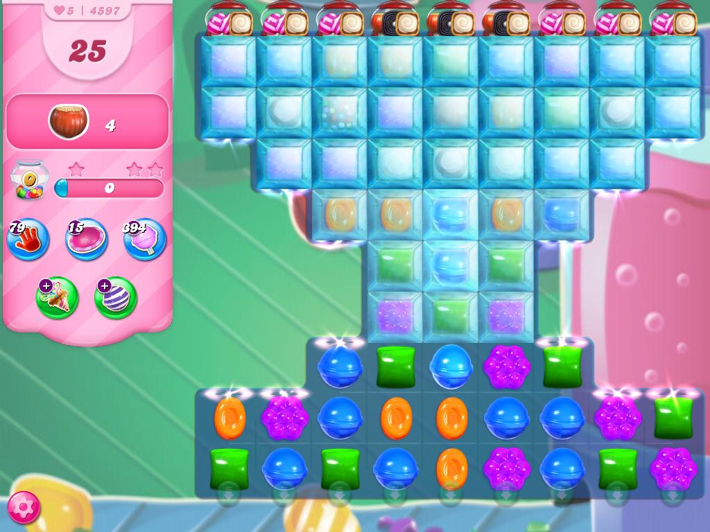 Candy Crush Saga level 4597
