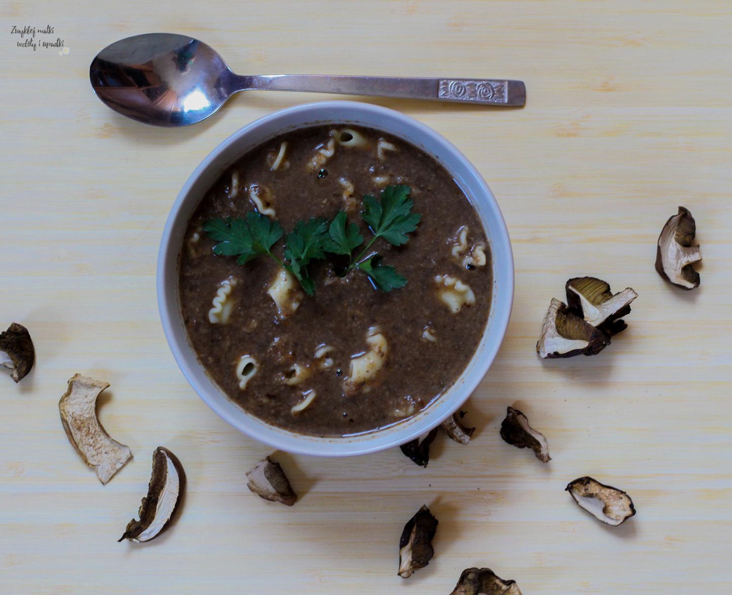 Zupa grzybowa, czyli obiad na piątek