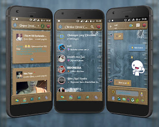 BBM2 Droid Chat! Blue Jeans v3.1.0.13 Apk