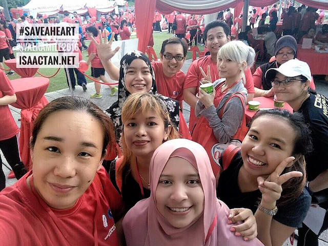 Our recent fitness event, WalkAMile 2016 by Nestle Omega Plus