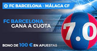 Paston Megacuota Liga Santander: Barcelona vs Málaga 21 octubre