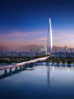 Lotte World Tower- the 2nd tallest building in the World