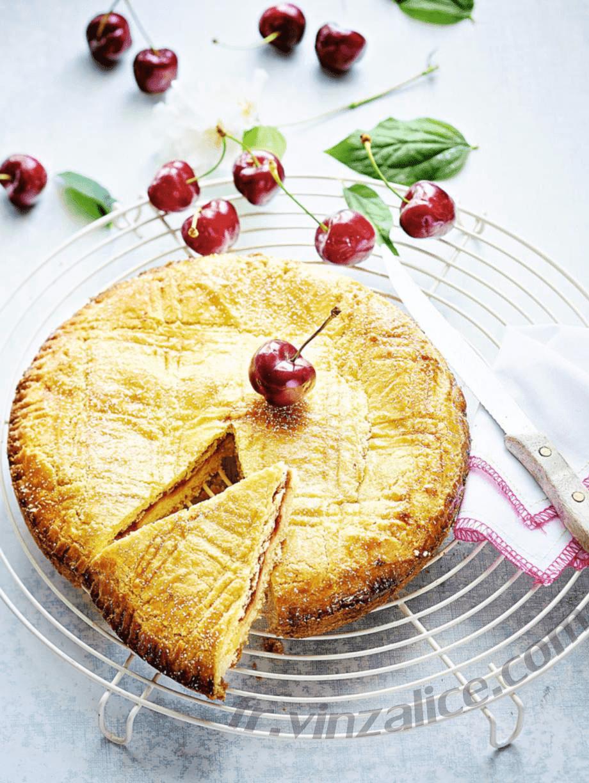 Recettes de gâteau basque aux cerises