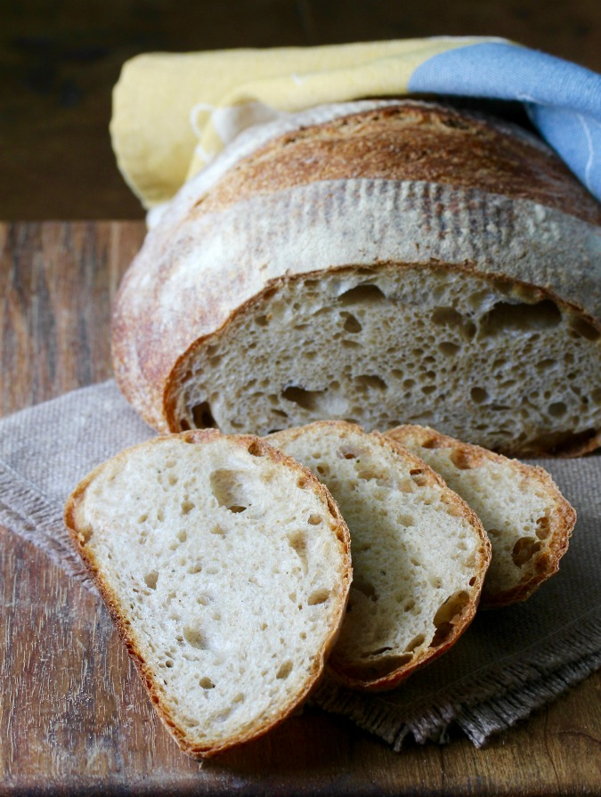 This Pain au Romarin, or Rosemary bread, is one of my favorite sourdough breads.